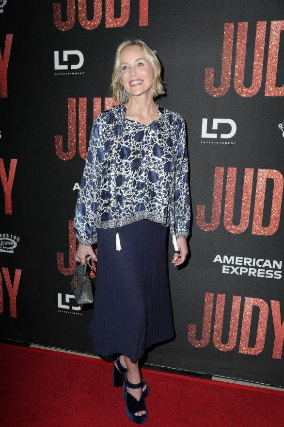 Sharon Stone - 'Judy' Premiere in Beverly Hills