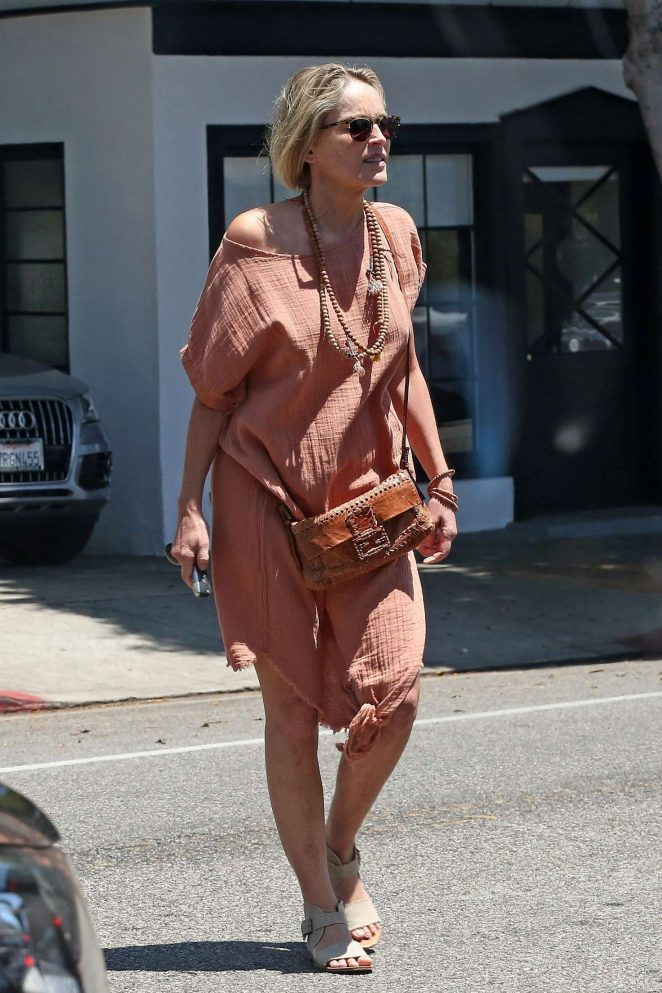 Sharon Stone: Out in Beverly Hills -04