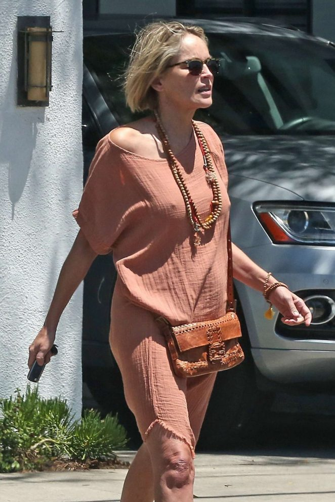 Sharon Stone: Out in Beverly Hills -07