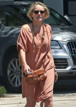 Sharon Stone - Out in Beverly Hills
