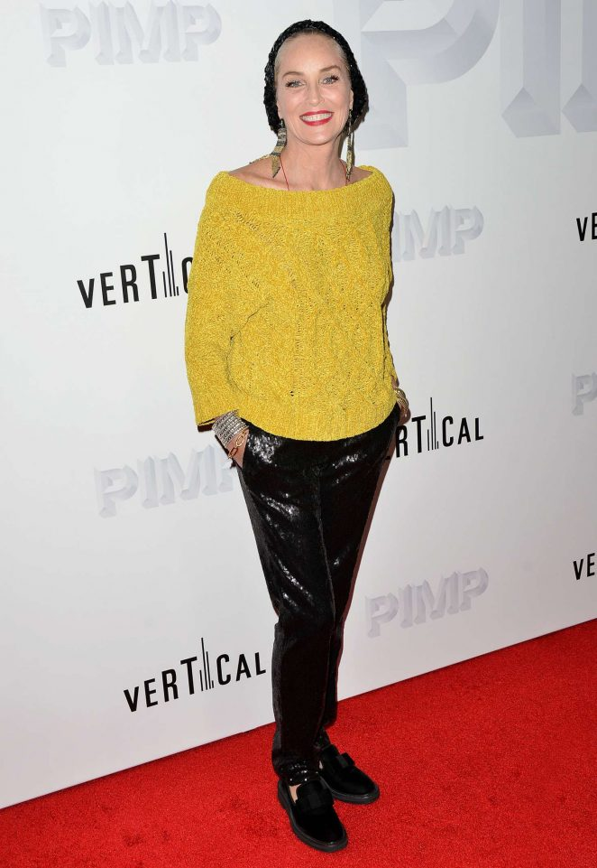 Sharon Stone – 'Pimp' Premiere in Los Angeles