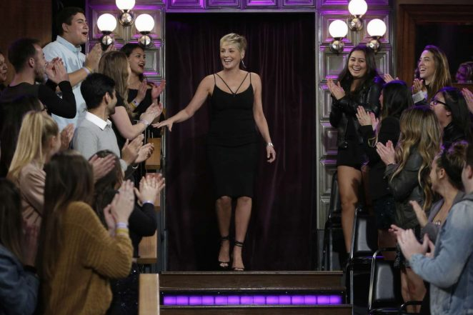 Sharon Stone - 'The Late Late Show with James Corden' in LA