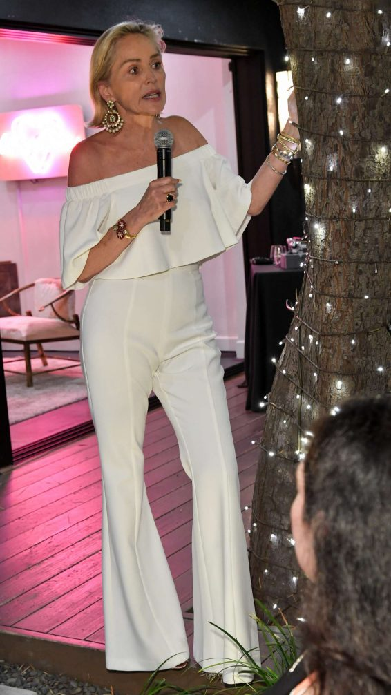 Sharon Stone - Women's Brain Health Initiative 100th Anniversary in Los Angeles