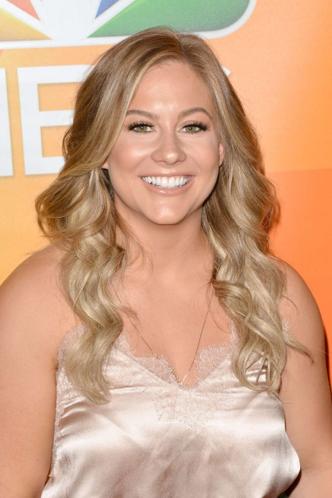 Shawn Johnson - 2017 NBC Summer TCA Press Tour in Beverly Hills