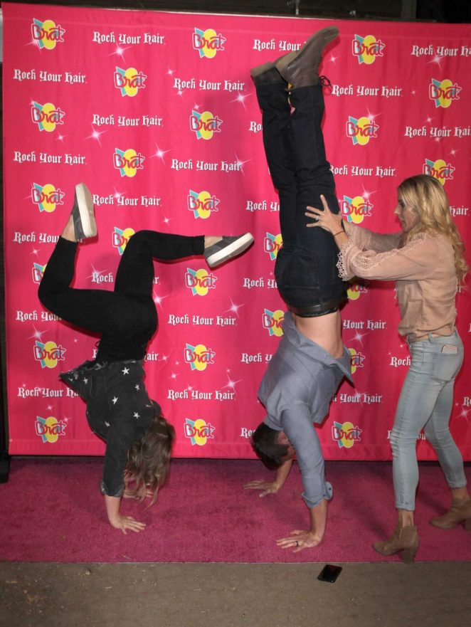 Shawn Johnson East – Annie LeBlanc 13th Birthday Party in Malibu