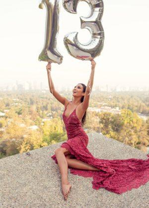 Shay Mitchell - 13 Million Instagram Followers Photoshoot (August 2016)
