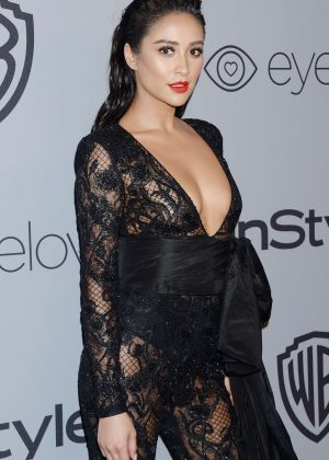 Shay Mitchell - 2018 InStyle and Warner Bros Golden Globes After Party in LA