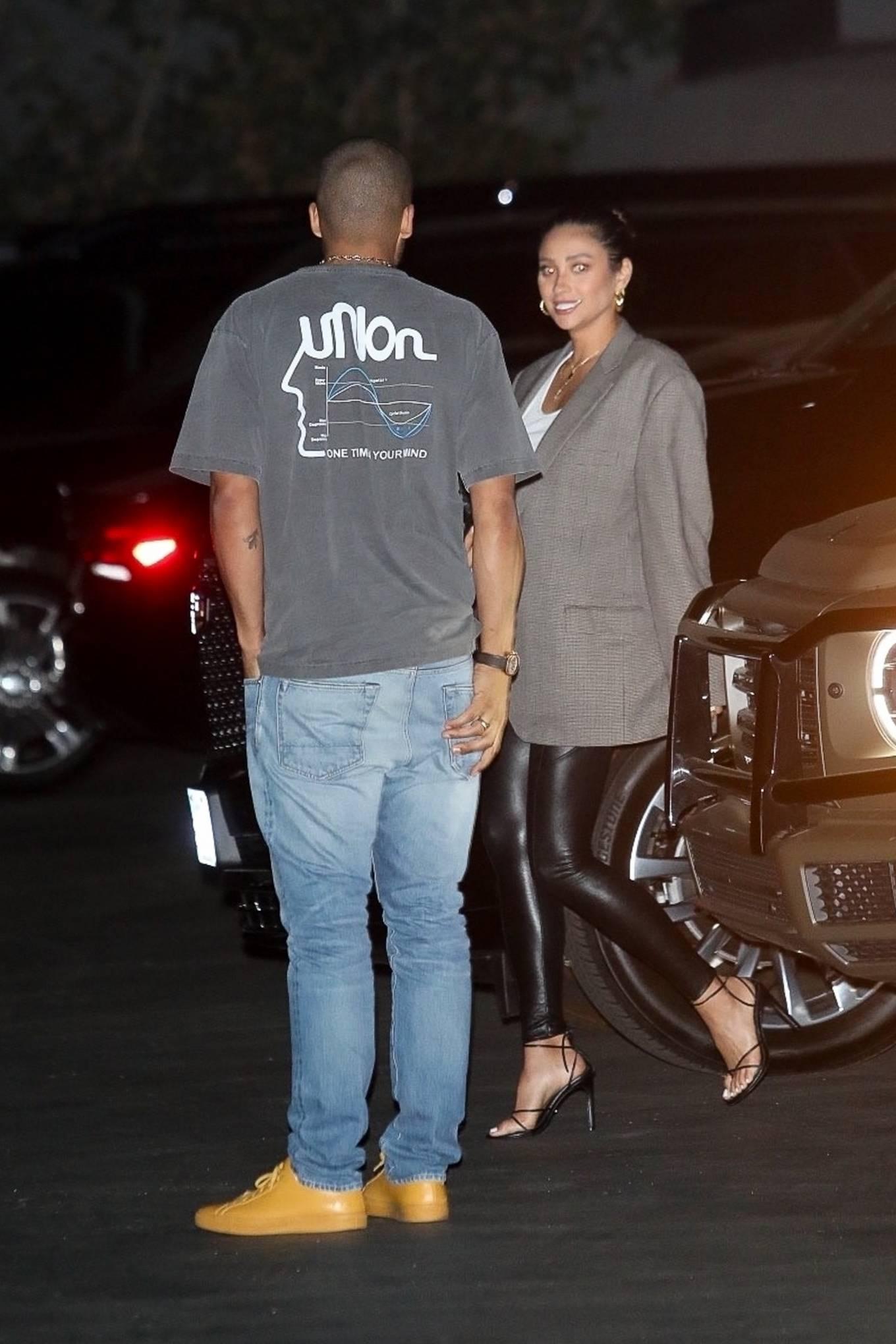 Shay Mitchell 2021 : Shay Mitchell – Arrives at Zack Bias birthday celebration in Los Angeles-09
