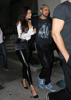 Shay Mitchell at Catch LA restaurant in West Hollywood