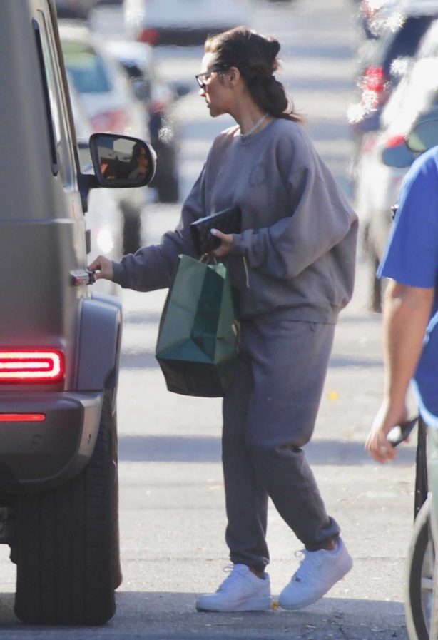 Shay Mitchell at Sweetgreen in Studio City