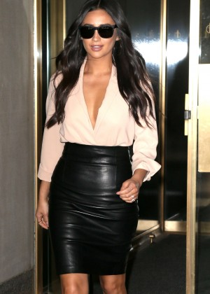 Shay Mitchell at the Today Show in New York City