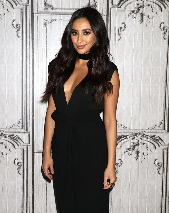 Shay Mitchell - Attends AOL Build to discuss 'Mother's Day' in New York City