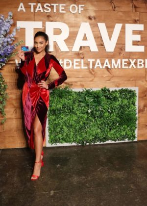 Shay Mitchell - Blue Delta SkyMiles Credit Card from AMEX launch event in NYC