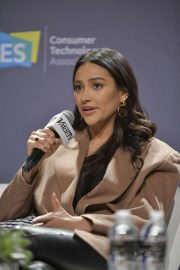 Shay Mitchell - CES 2020 Panel at Aria Resort & Casino in Las Vegas