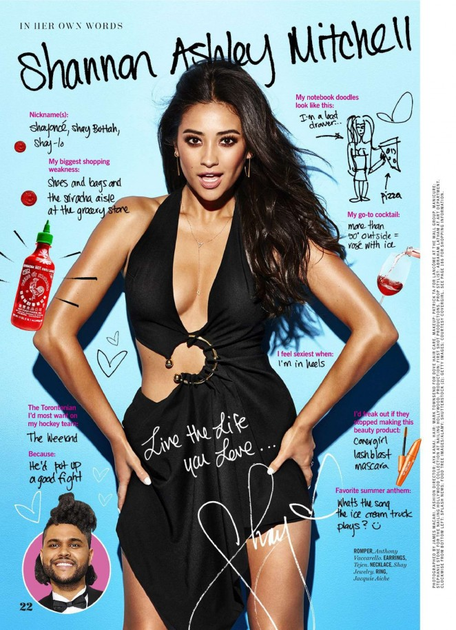 Shay Mitchell - Cosmopolitan Magazine (June 2016)
