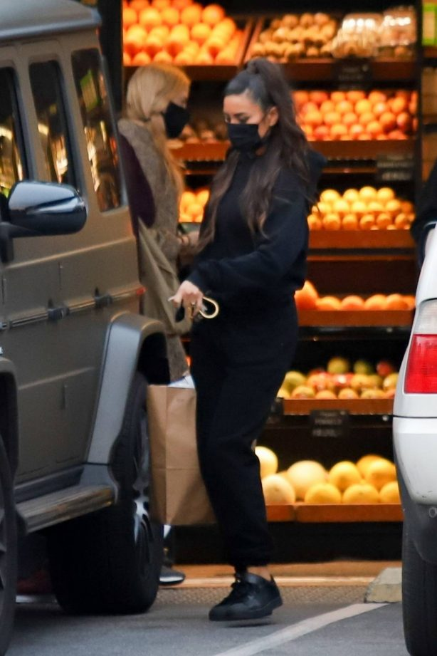 Shay Mitchell - Grocery shopping near her home in Los Angeles