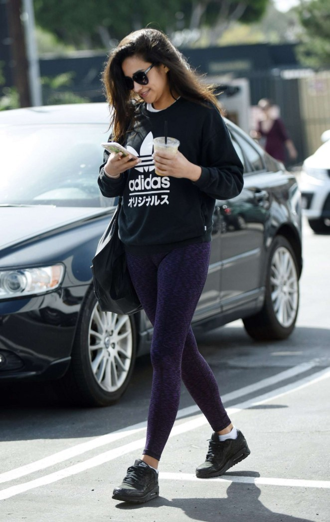 Shay Mitchell in Tights -10
