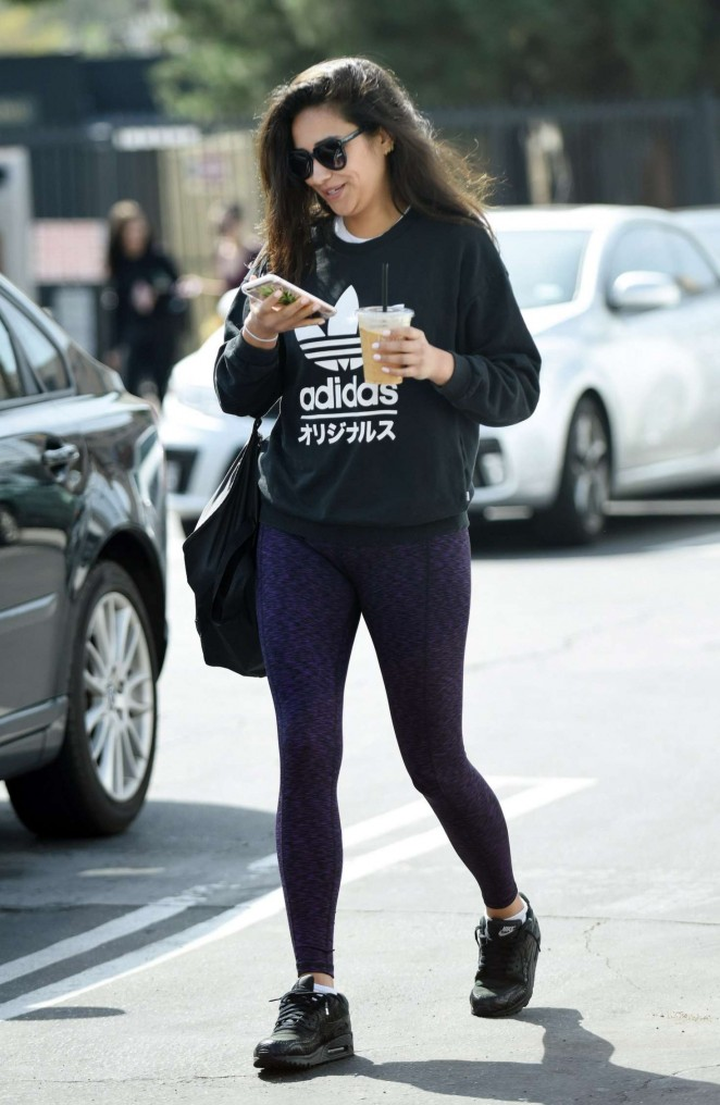 Shay Mitchell in Tights -12