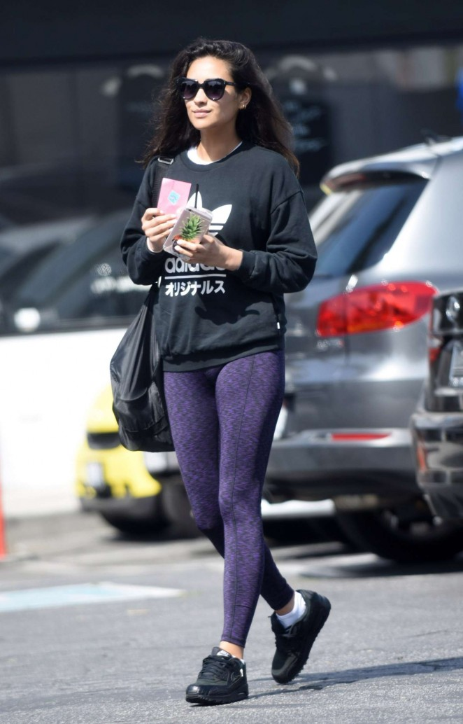 Shay Mitchell in Tights -16