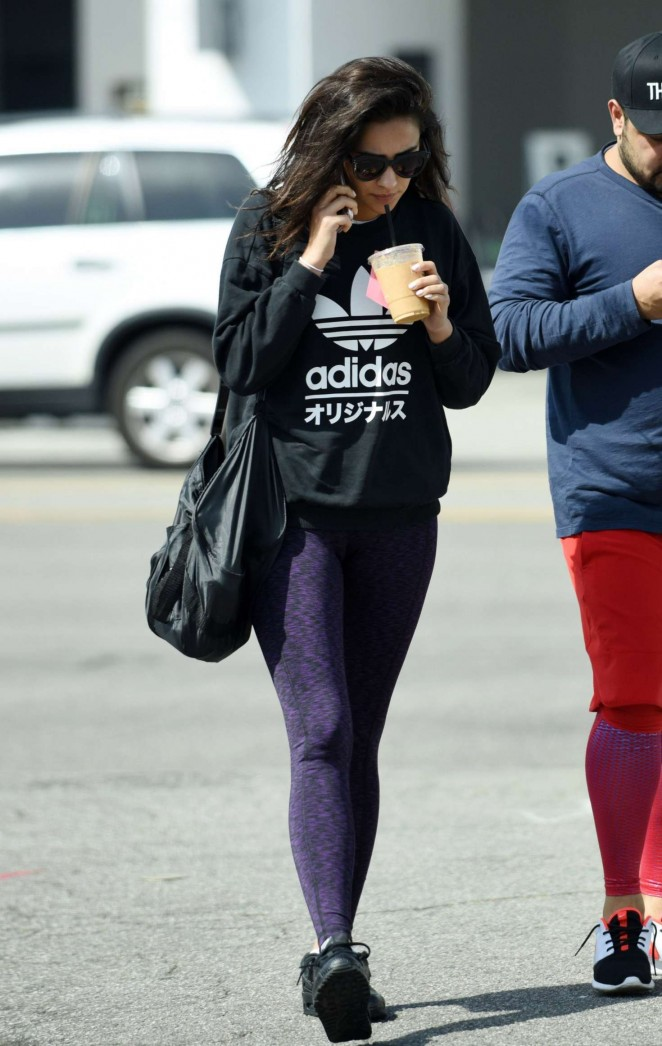 Shay Mitchell in Tights -17