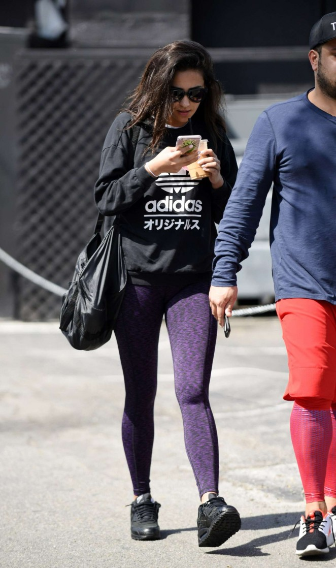 Shay Mitchell in Tights -18