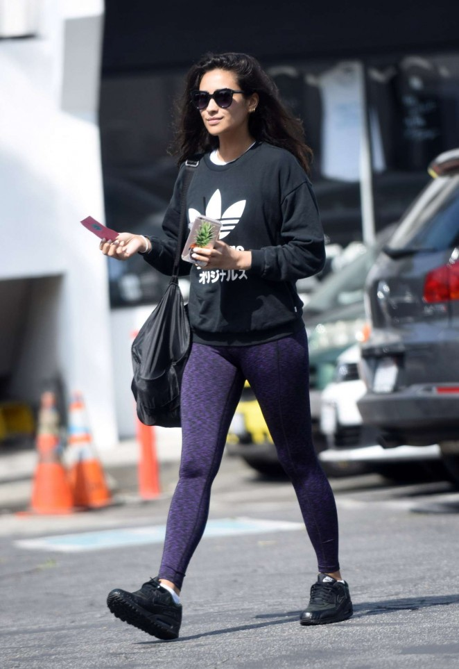 Shay Mitchell in Tights -19