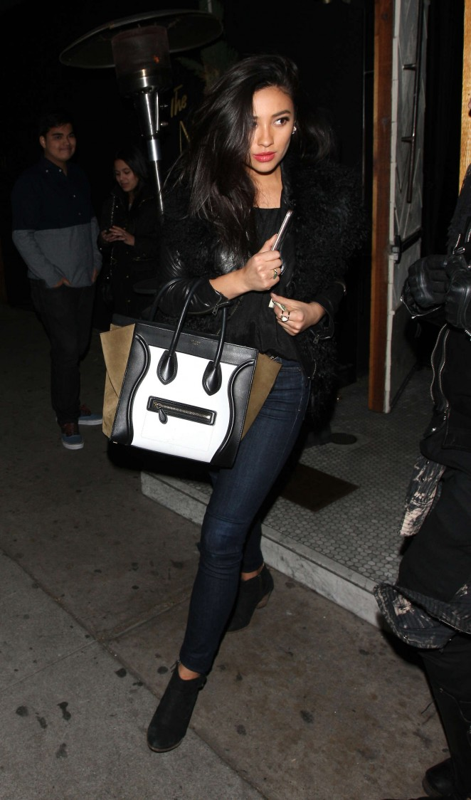Shay Mitchell Leaves The Nice Guy in West Hollywood