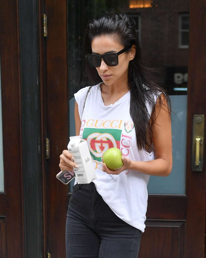 Shay Mitchell - Leaving her hotel in NYC