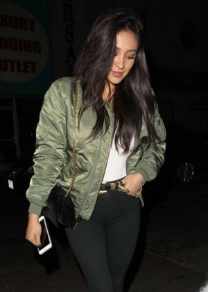 Shay Mitchell - Leaving 'The Nice Guy' in West Hollywood