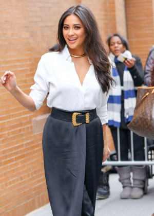 Shay Mitchell Leaving 'The View' in New York