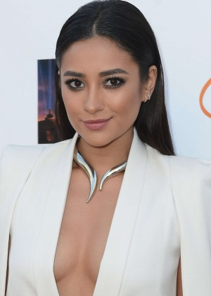 Shay Mitchell - Lupus LA Orange Ball And A Night Of Superheroes in Century City