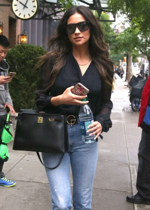 Shay Mitchell out and about in NYC