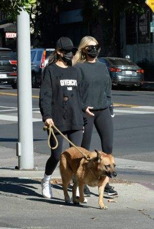 Shay Mitchell - Out for a family stroll in LA