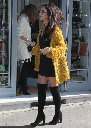Shay Mitchell - Out shopping in Milan