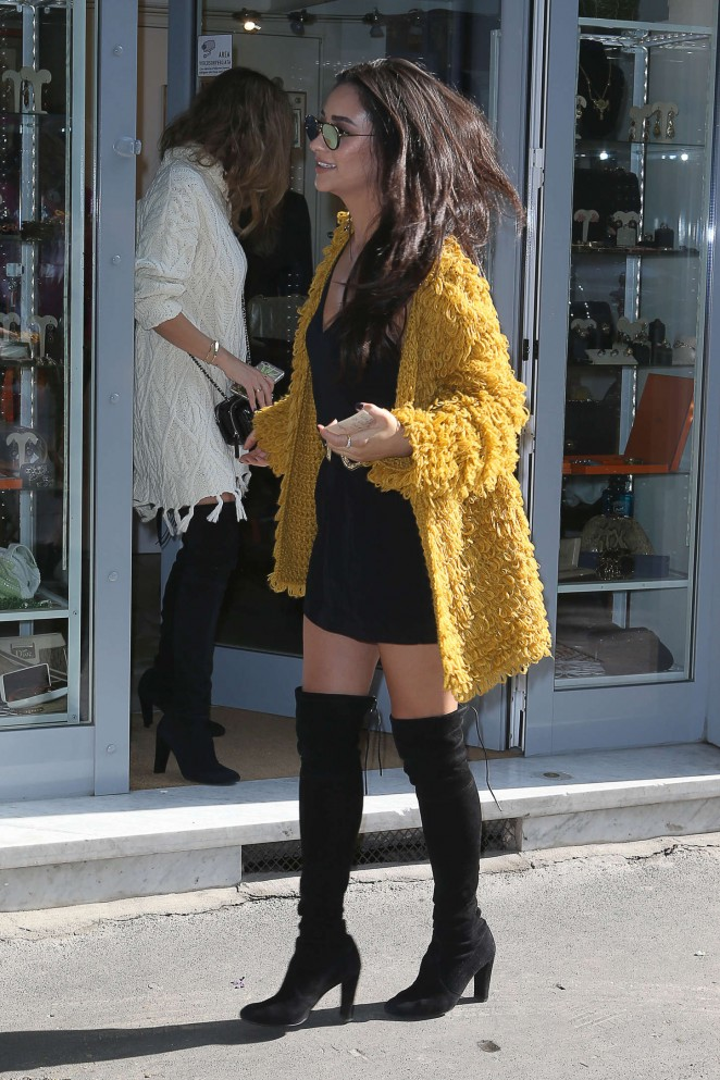 Shay Mitchell – Out shopping in Milan