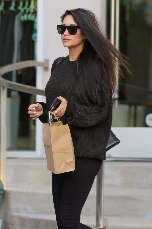 Shay Mitchell - Runnung errands in West Hollywood