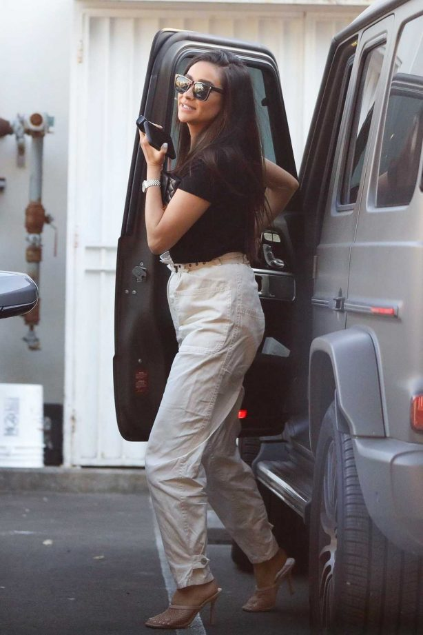 Shay Mitchell - Seen at M cafe in West Hollywood
