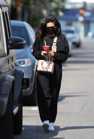 Shay Mitchell - Seen leaving a spa in West Hollywood
