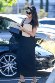 Shay Mitchell - Seen while heads to a business meeting in Los Angeles