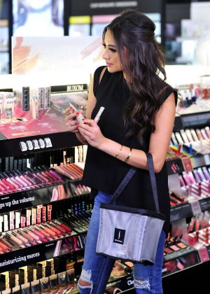 Shay Mitchell - Shopping at Sephora in LA