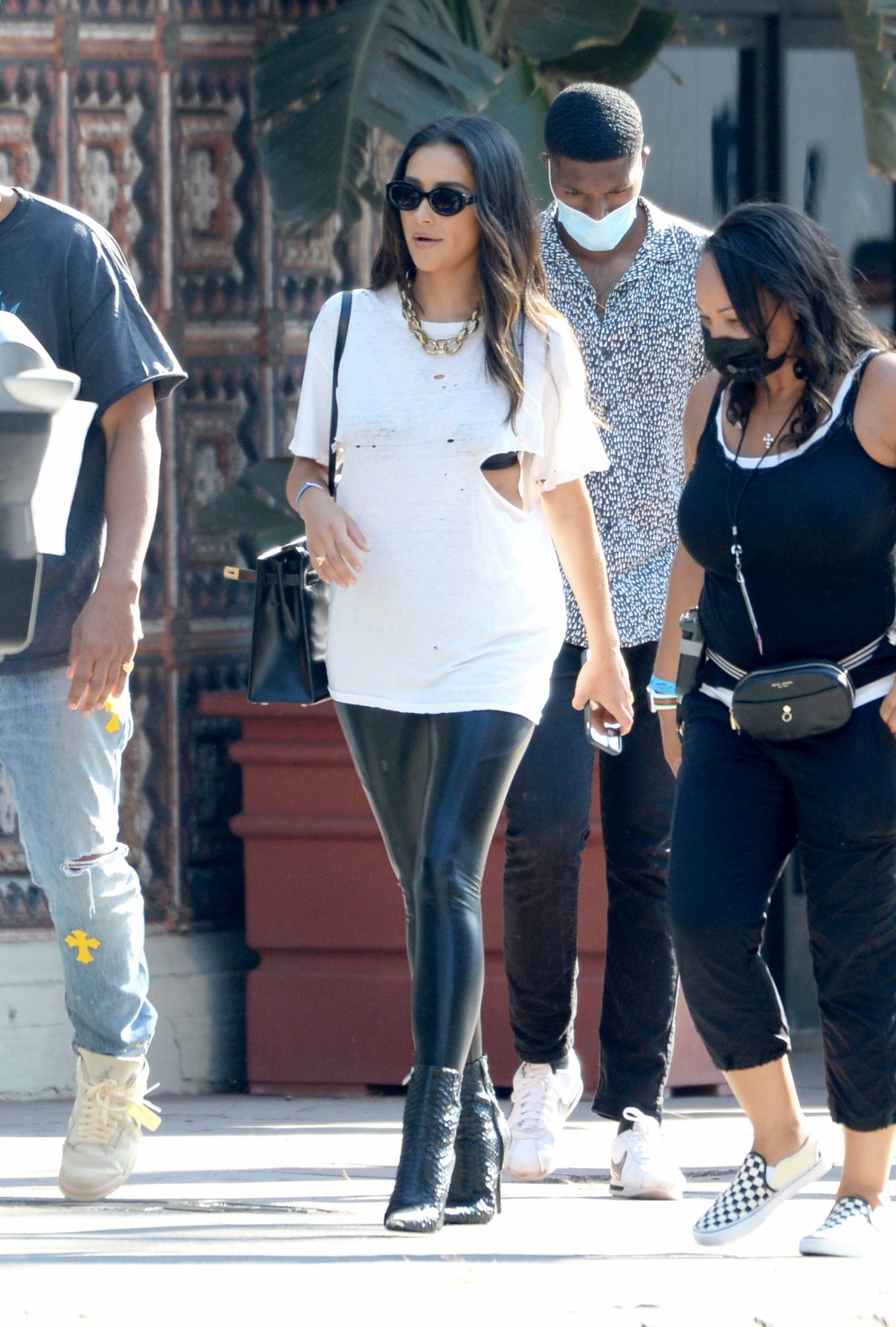 Shay Mitchell - Spotted out and about in LA