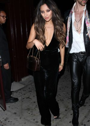 Shay Mitchell - Spotted While Leaving the Peppermint club in West Hollywood