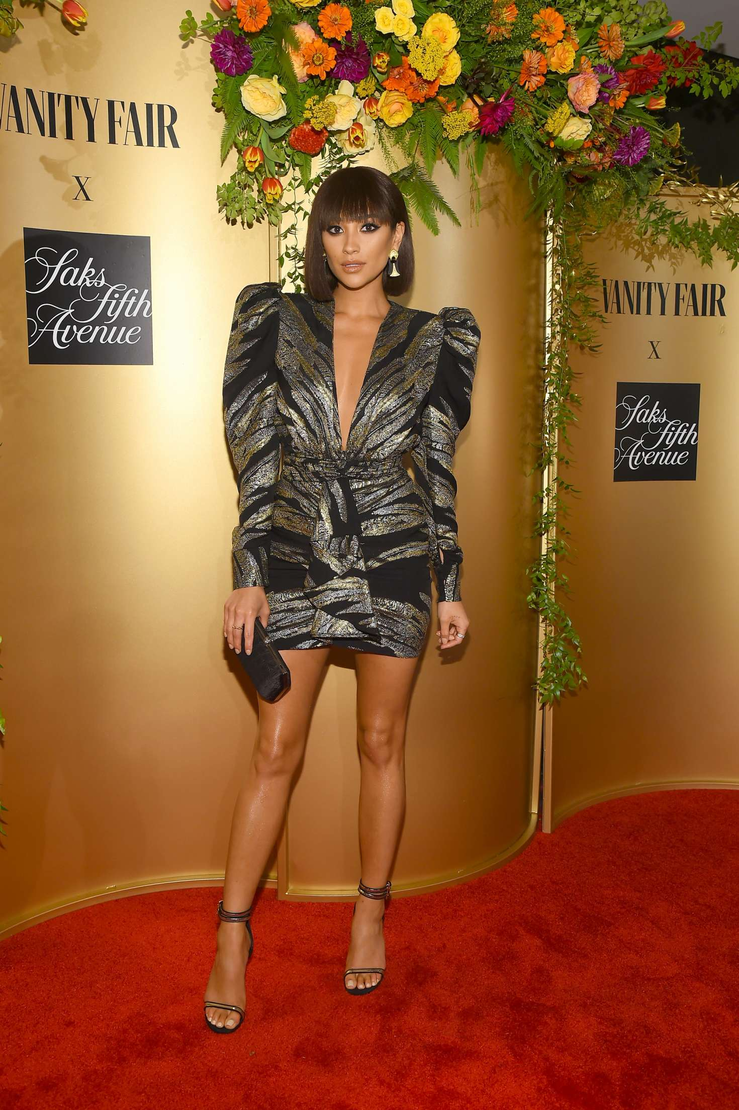 Shay Mitchell Vanity Fair Celebrate Best Dressed 2018 In Nyc