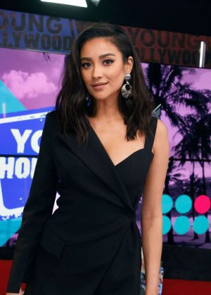 Shay Mitchell - Visits the Young Hollywood Studio in LA