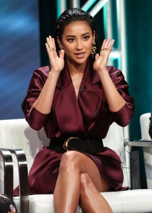 Shay Mitchell - 'YOU' Panel at 2018 Summer Television Critics Association Press Tour in LA