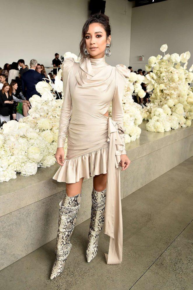 Shay Mitchell - Zimmermann Fashion Show in NYC