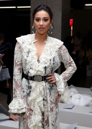 Shay Mitchell - Zimmermann Show at 2017 NYFW in New York