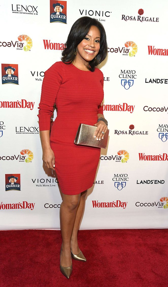 Sheinelle Jones - Woman's Day 14th Annual Red Dress Awards in New York