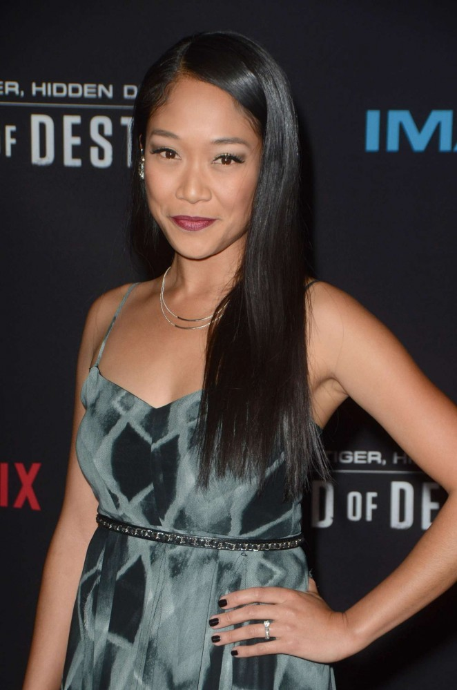 Shelby Rabara - 'Crouching Tiger, Hidden Dragon: Sword of Destiny' Premiere in Los Angeles