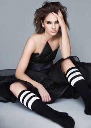 Shelley Hennig - Glamour Russia Magazine 2015